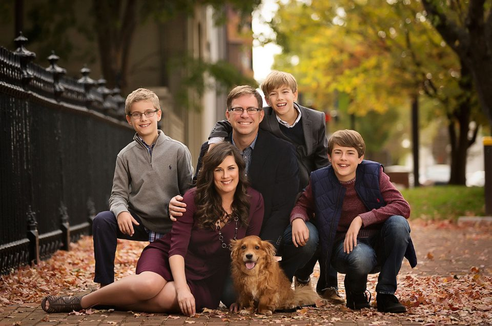 The Family Portrait Session