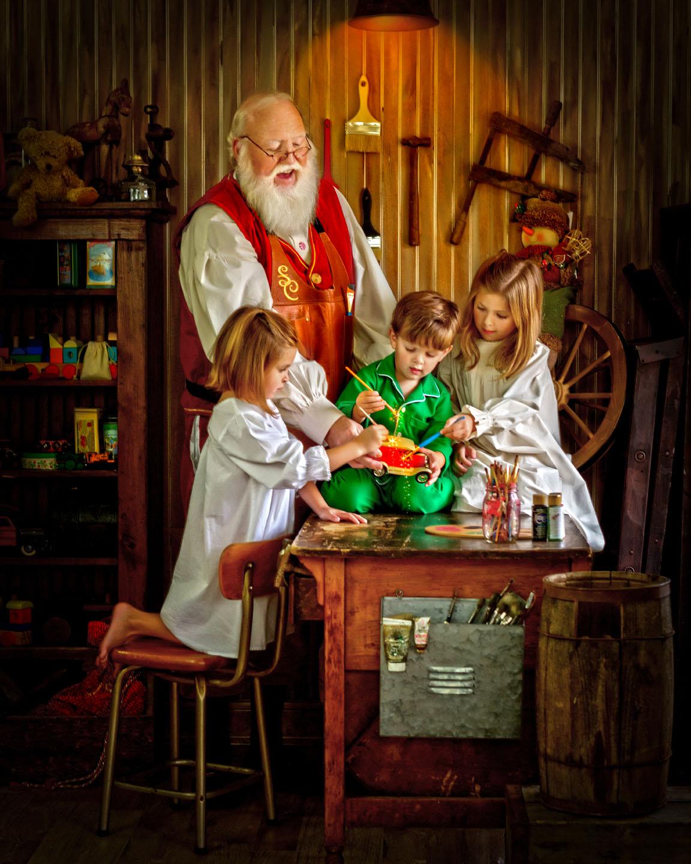 Santas Magical Workshop Portraits