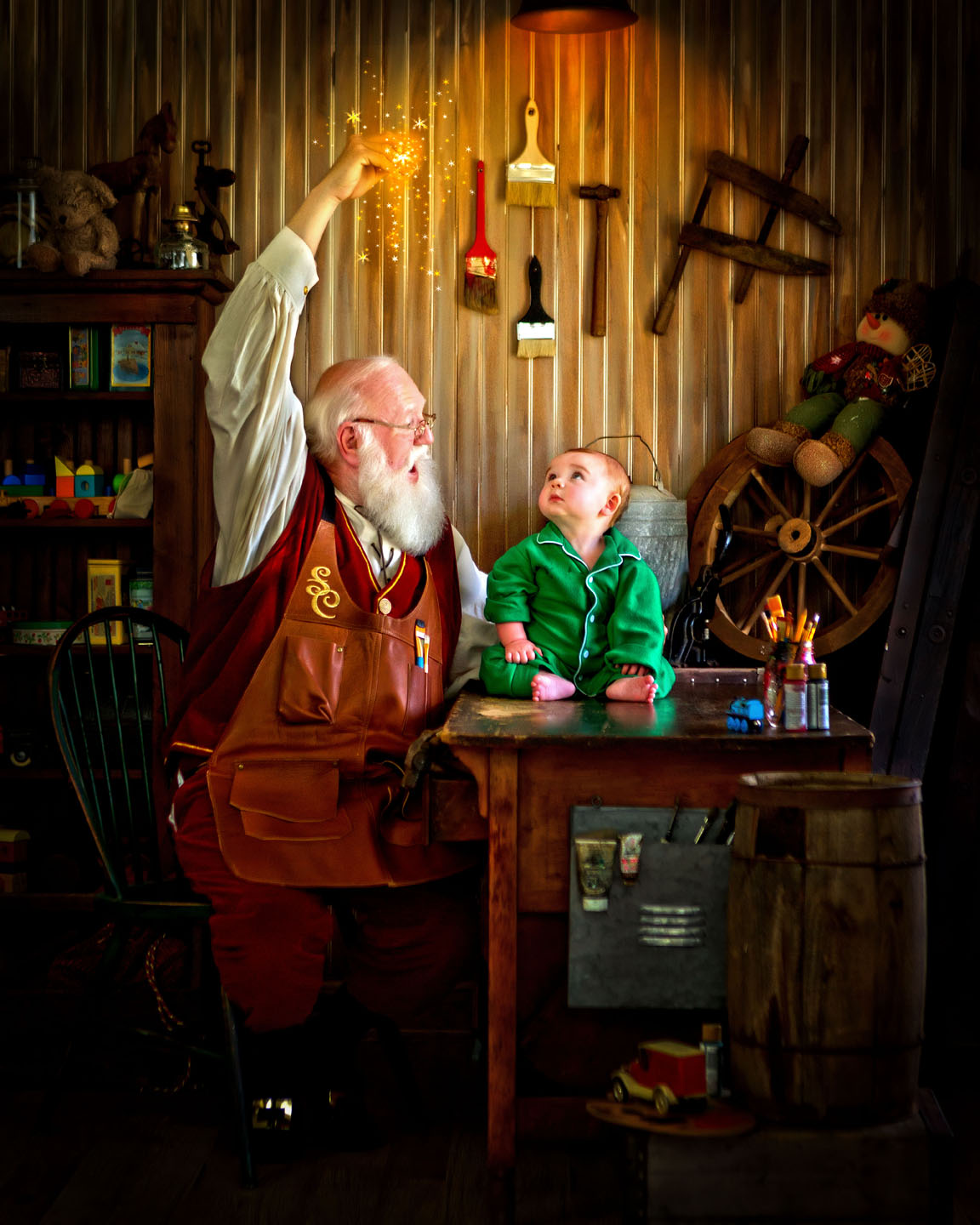 Santas Magical Workshop Portraits